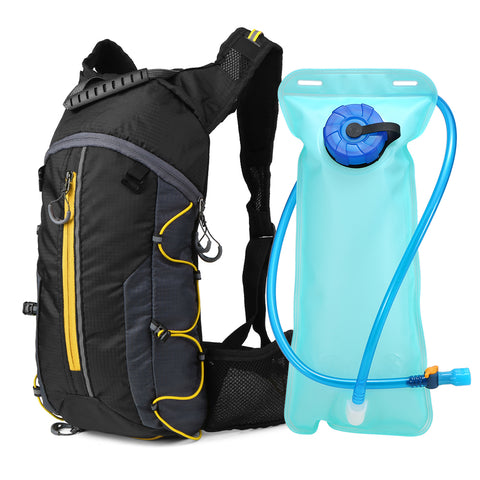 Yellow Outdoor Hydration Backpack