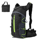 Green Outdoor Hydration Backpack