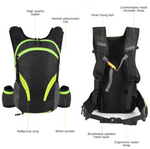 Green Outdoor Hydration Backpack 2.0