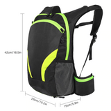 Black Outdoor Hydration Backpack 2.0