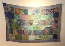 Load image into Gallery viewer, Denim Patchwork Karma Throw (D)