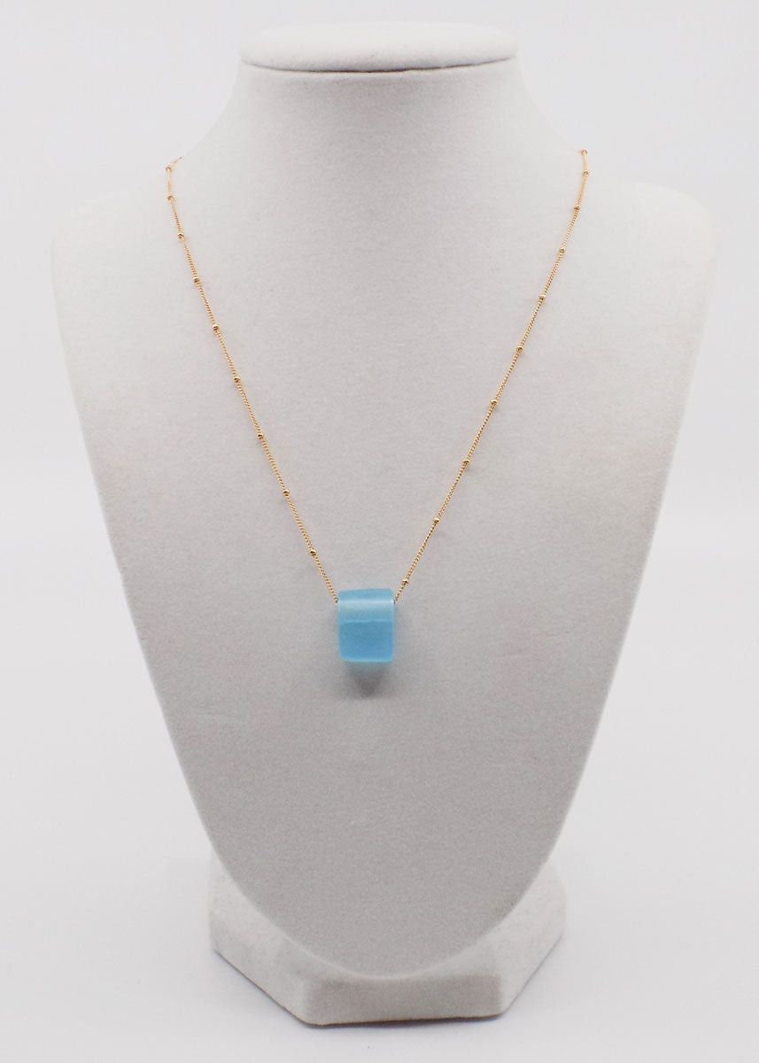 Necklace with Glass Bead