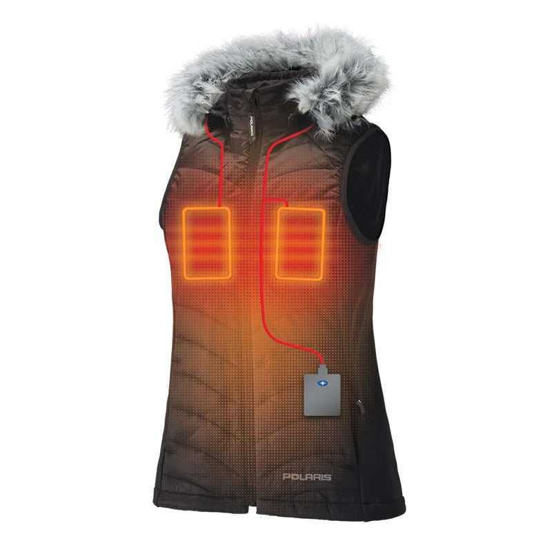 Polaris Women's Heated Vest with Rechargeable Battery