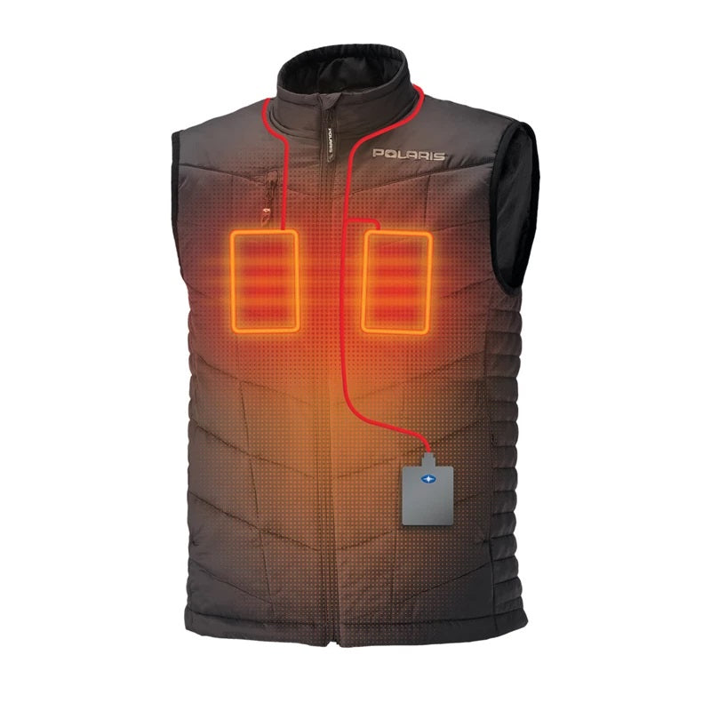 Polaris Men's Heated Vest with Rechargeable Battery