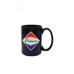 Polaris Coffee Mug with Retro Roseau Design and Polaris® Logo