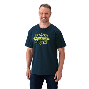 Polaris Men's Short-Sleeve Manufacturing Graphic Tee with Logo