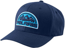 Load image into Gallery viewer, Polaris  Unisex (S/M) Flexfit Hat with Mountain Scape Polaris® Logo Patch