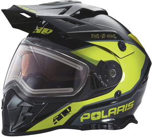 Polaris 509® Delta Adult Moto Helmet with Removable Electric Shield