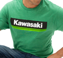 Load image into Gallery viewer, KAWASAKI 3 GREEN LINES T-SHIRT