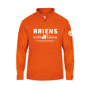 Ariens King of Snow Men's Tonal Blend 1/4-Zip Shirt