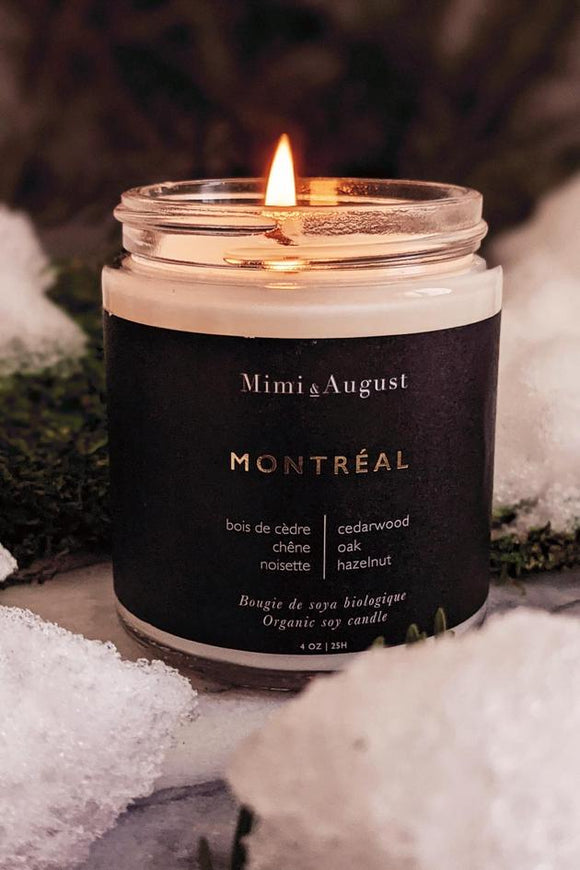Montreal Organic Soy Candle
