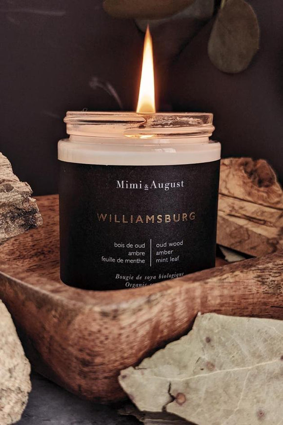 Williamsburg Organic Soy Candle