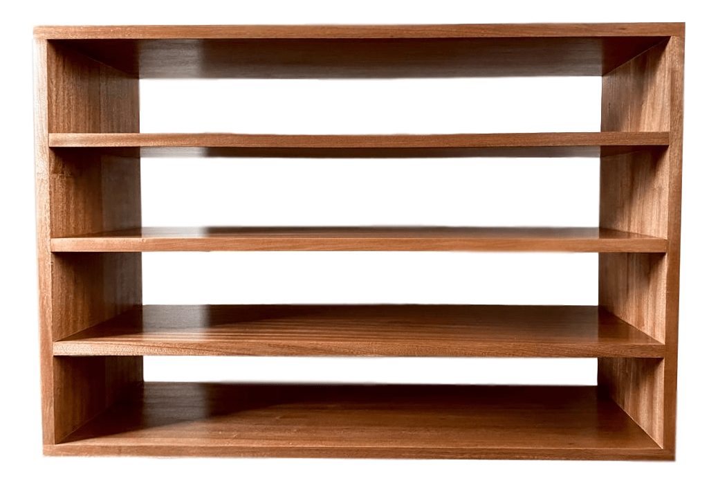 Bespoke Sapele TV Unit - R&M Woodworking