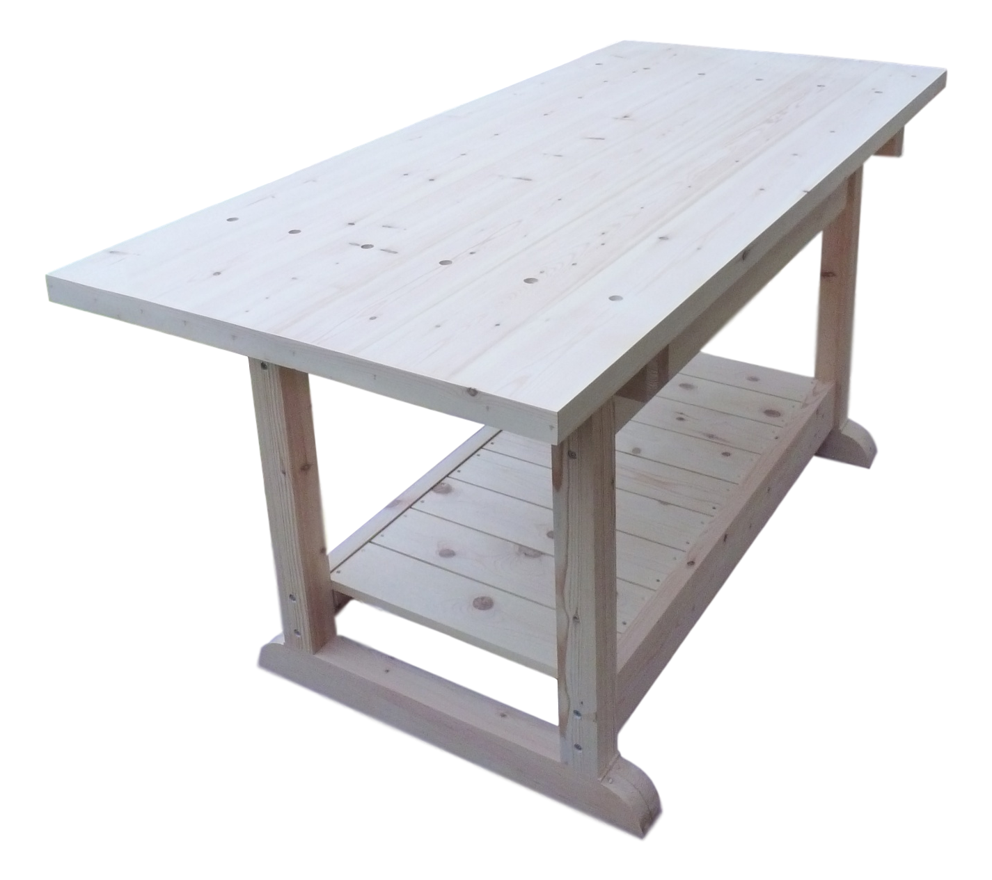 Heavy Duty Wooden Workbench - R&M Woodworking