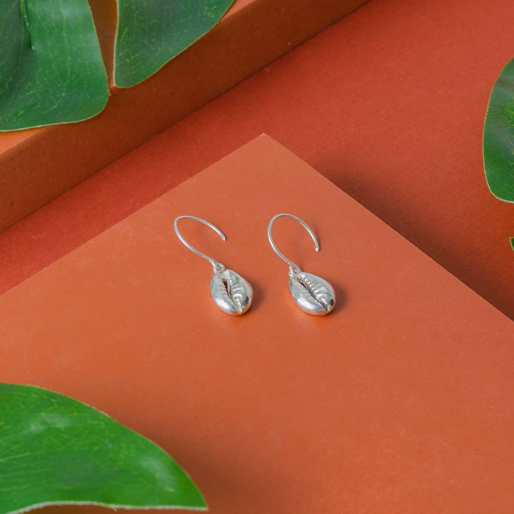 Concha Earrings Silver