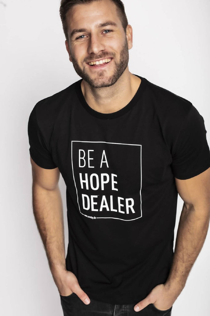 HOPE DEALER T-Shirt Unisex, Schwarz