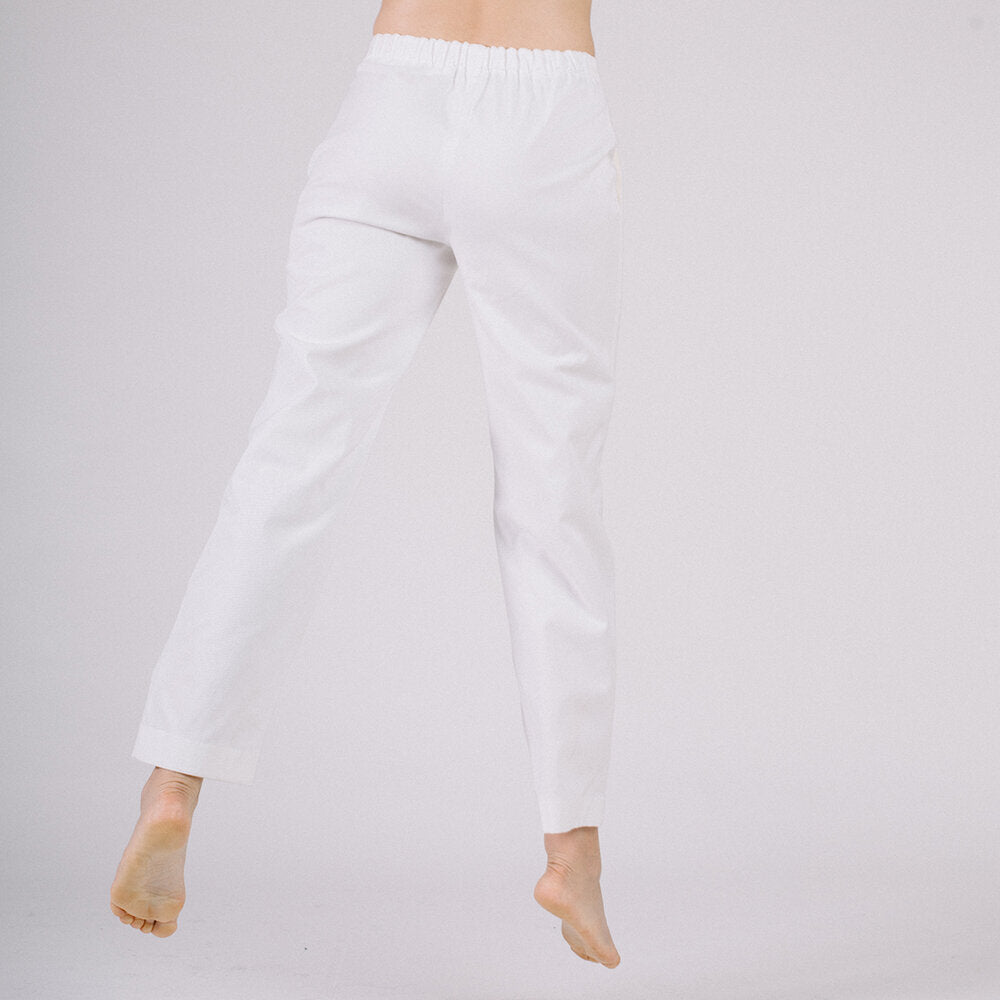 Workwear trousers - soft white