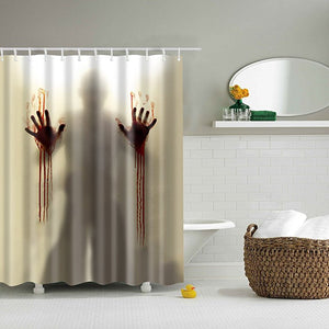 Bloody Murder Shower Curtain