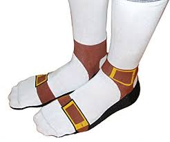 Sandal Socks - Socks that look like you are wearing sandals with socks