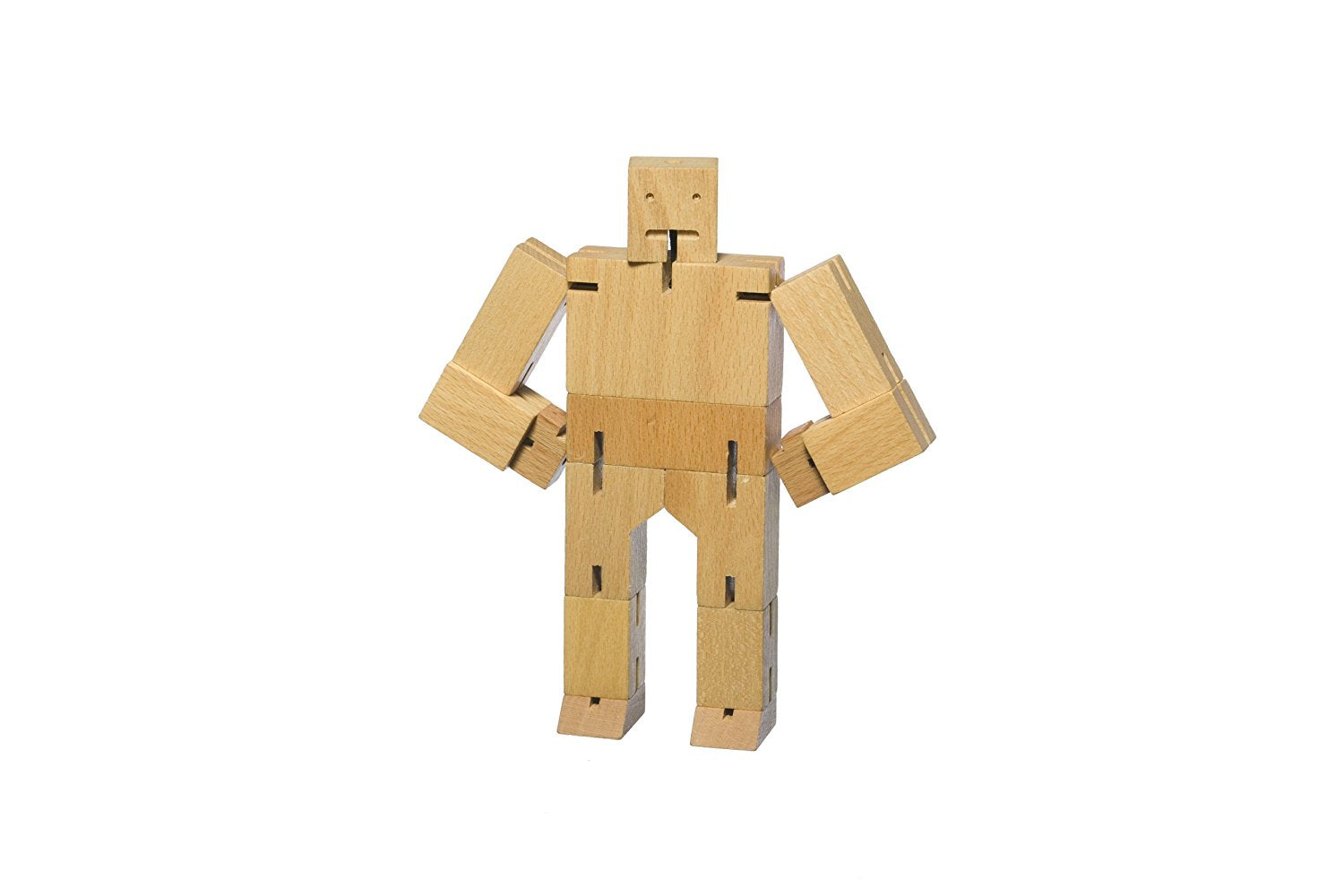 Cubebot Wooden Puzzle Robot toy