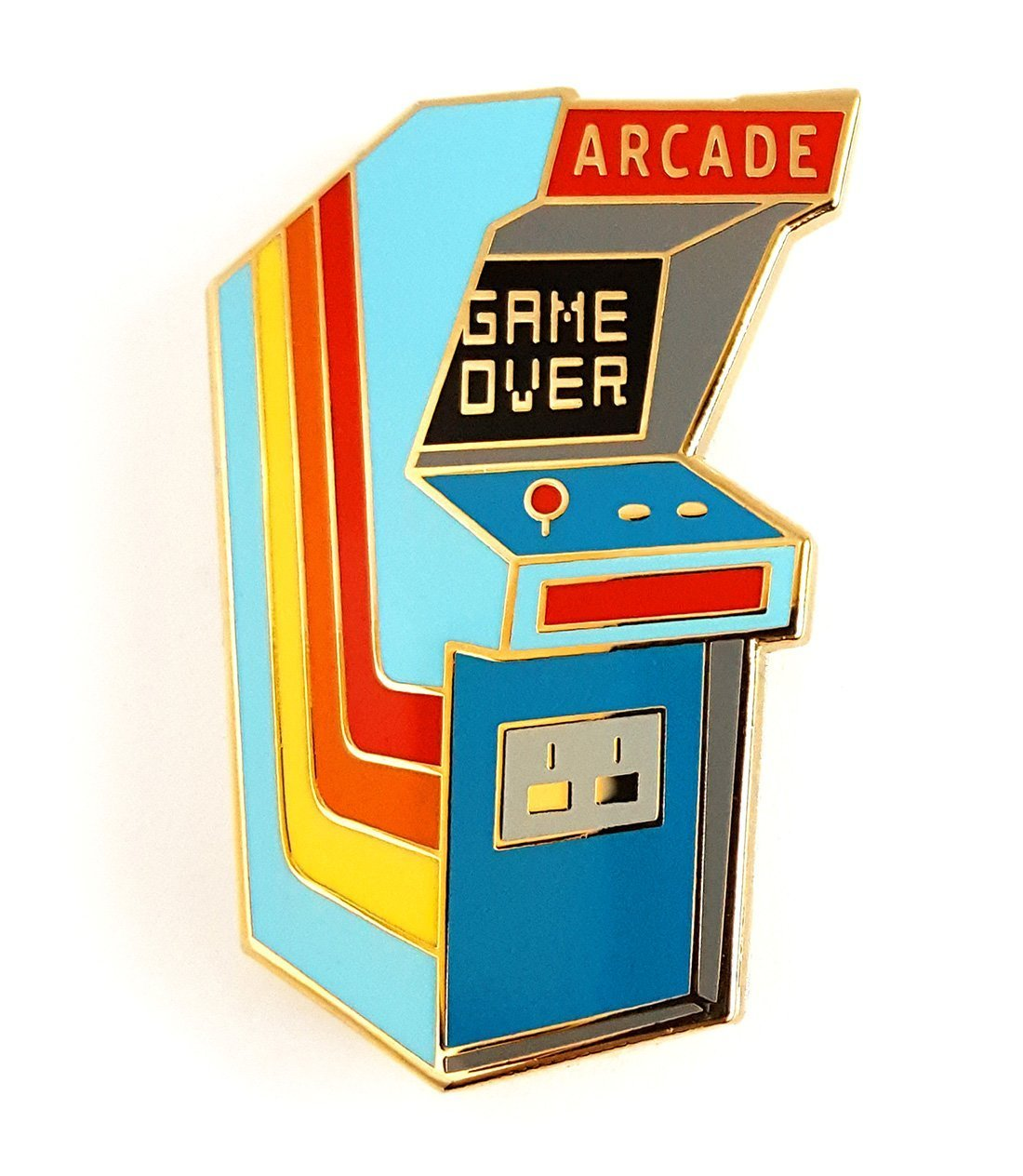 Vintage Arcade Video Game Lapel