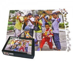 1000 piece personalized jigsaw photo puzzle