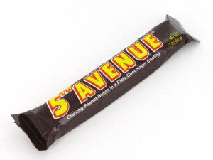 5th Avenue bar from Old Time Candy Company