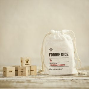 foodie dice and sack