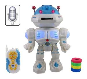 annie interactive voice command talking space robot