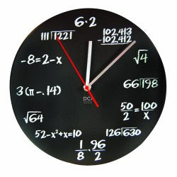 blackboard-math-clock