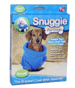 blue snuggie for dogs