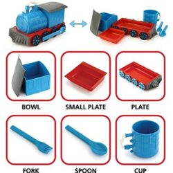 chew chew train laid out with the individual pieces explained.