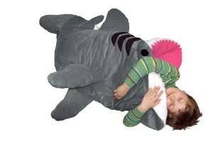 chumbuddy junior shark sleeping bag