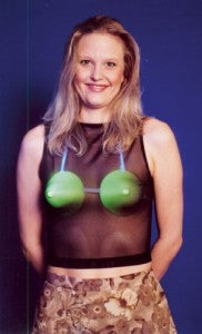 glow in the dark bra