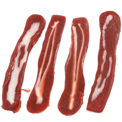 uncle oinkers strawberry bacon candy