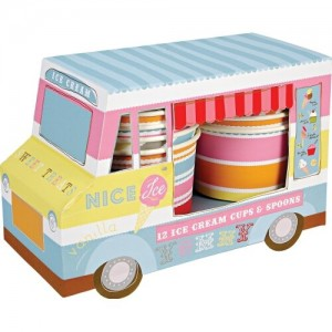Ice Cream Cups Van