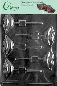 lolly valentine chocolate candy mold