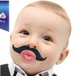 baby mustache soother