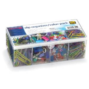 officemate value pack assorted giant paperclips
