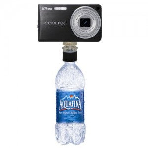 polaroid bottle cap tripod