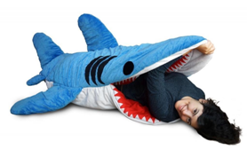 shark sleeping bag for adults or for kids