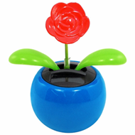 solar powered flowers