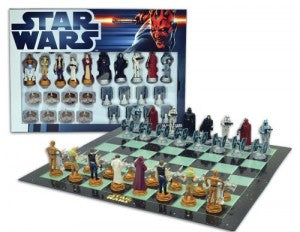 star wars chess board set