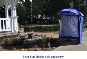 sun umbrella ez shade