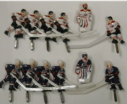 usa versus canada bubble hockey pieces
