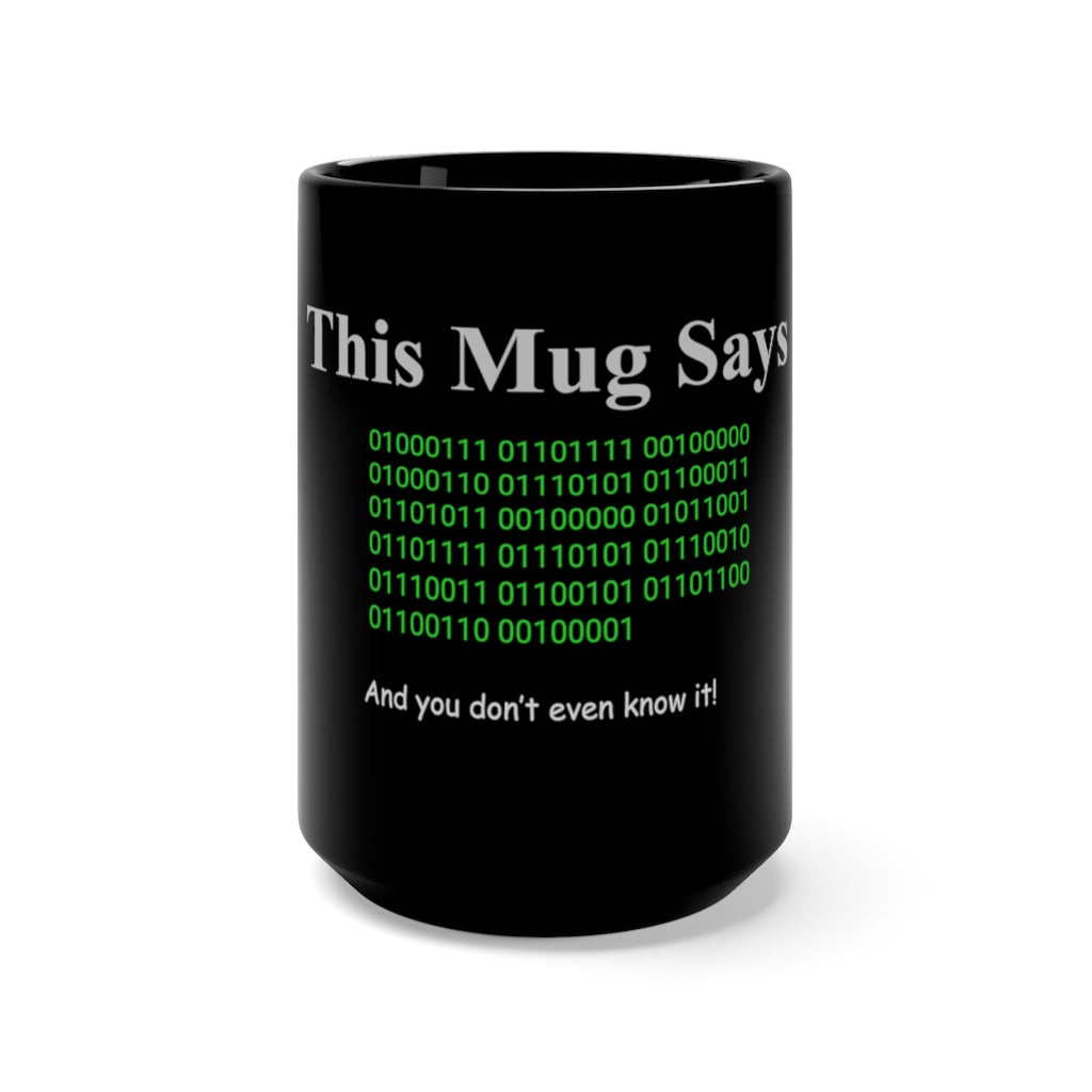 funny binary mug for engineers