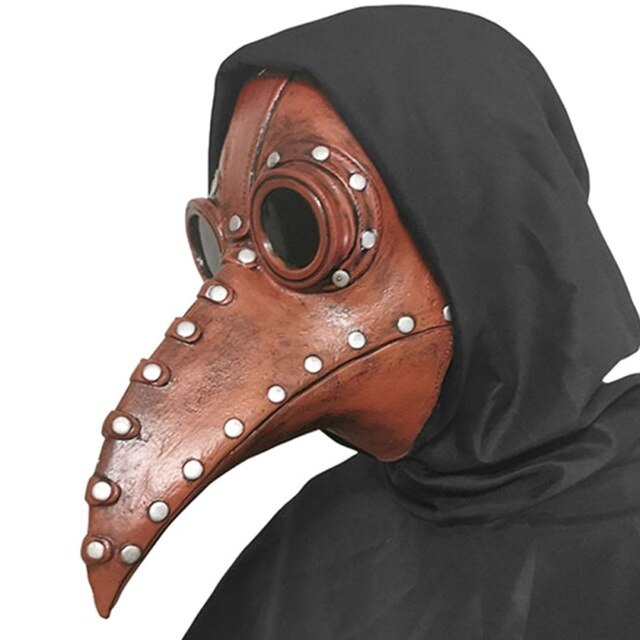 Creepy Steampunk Bird Mask for Halloween