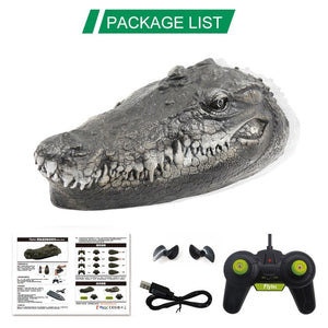 Frightening Crocodile Head Speed Boat Toy with Remote Control