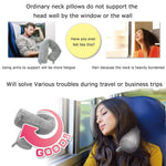 Load image into Gallery viewer, Twisting Neck Pillow for Travel - Great Alternative to the Total Pillow - No More Neck Pain During Travel