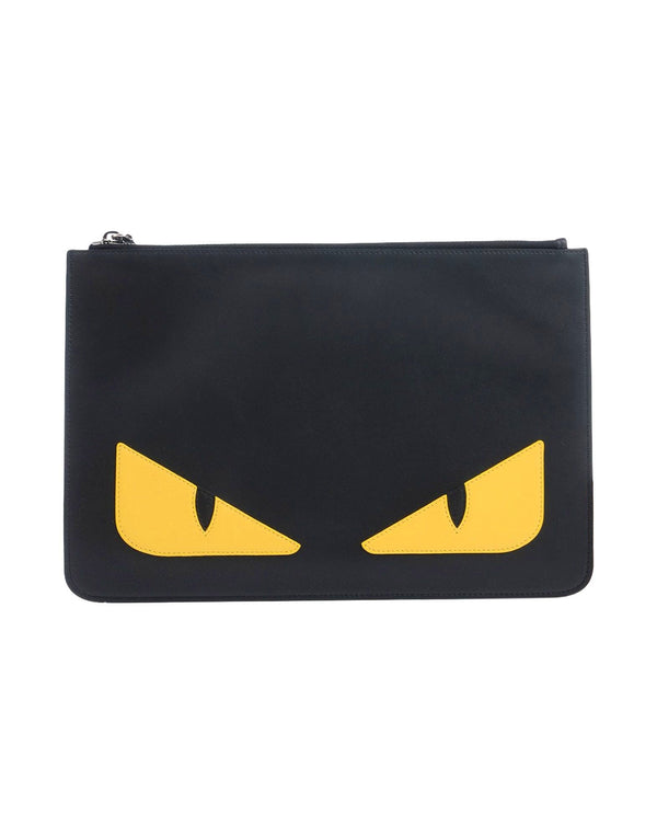 Fendi Monster Leather Pochette
